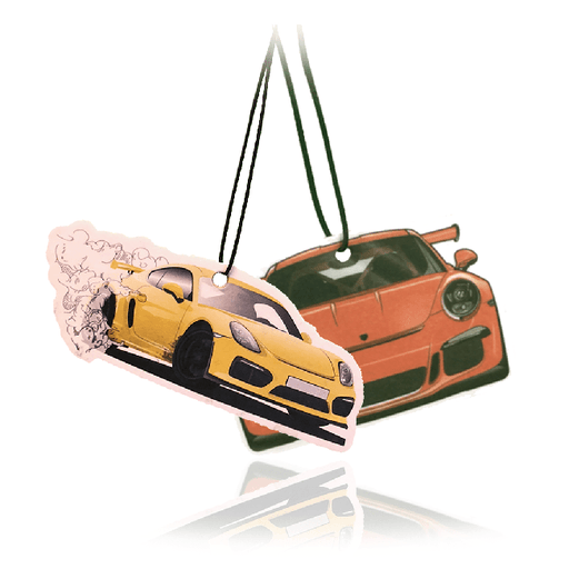 Porsche Air Freshener Multi Pack-EmojiFresh