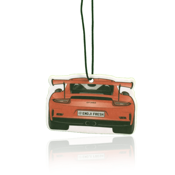 Porsche GT3RS Emoji Car Air Freshener-EmojiFresh