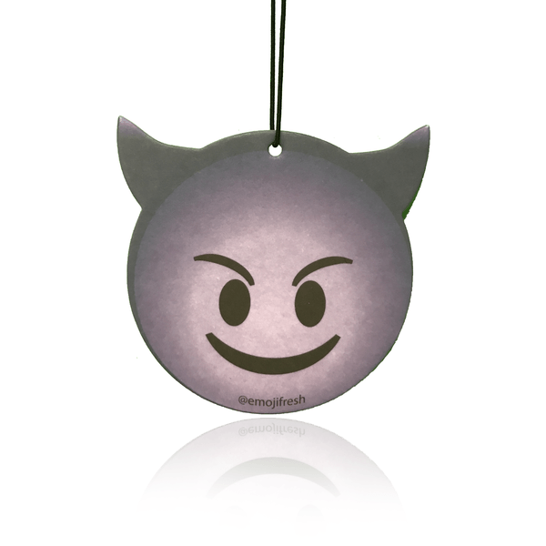 Smiling Devil Emoji Car Air Freshener-EmojiFresh
