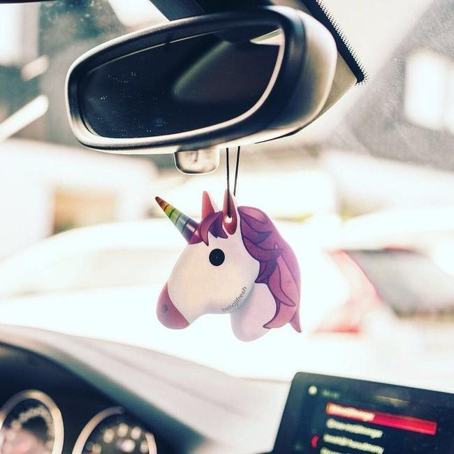 Unicorn Emoji Car Air Freshener-EmojiFresh