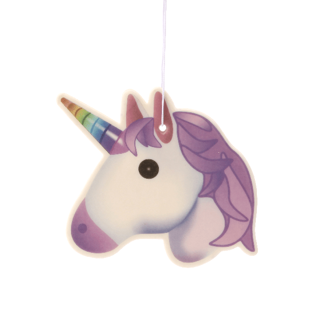 Unicorn Emoji Car Air Freshener x2 With Retail Packaging-EmojiFresh