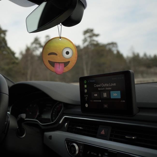 Winking Face With Tongue Emoji Car Air Freshener-EmojiFresh