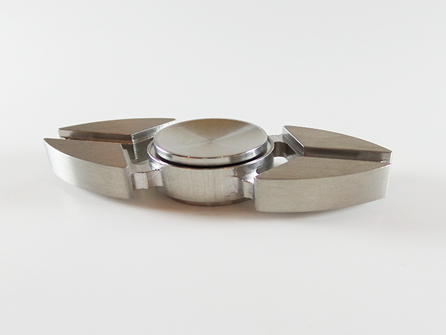 Monkey - X Stainless Steel Spinner - Metal