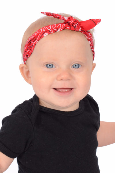 3 in 1 Headband - Classic Red