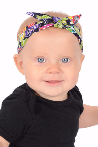 3 in 1 Headband - Jolly Sugar Skulls