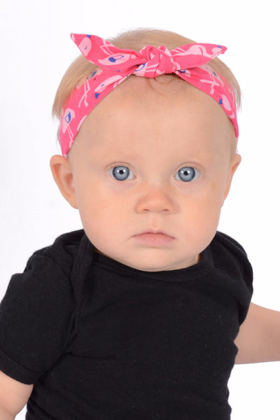 3 in 1 Headband - Pink Flamingo