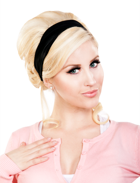 4 in 1 Headband - Black Picnic