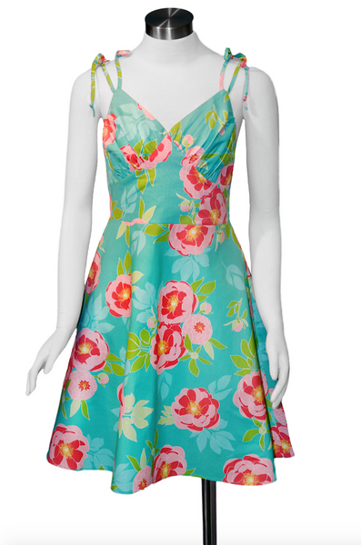 Dolores Dress - April Moon Aqua