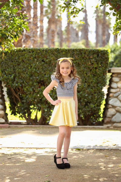 Kids Jivin' Skirt - Yellow