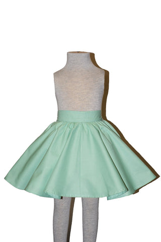 Kids Jivin' Skirt - Seafoam Green