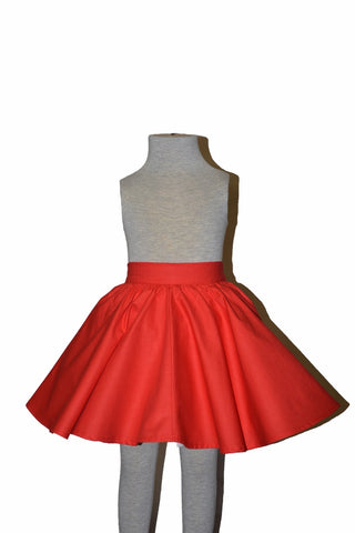 Kids Jivin' Skirt - Red