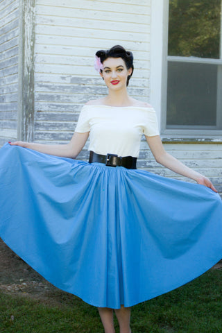 Jivin' Skirt - Blue