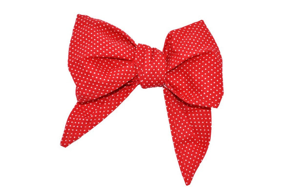 Minnie Bow - Red Mini Dot