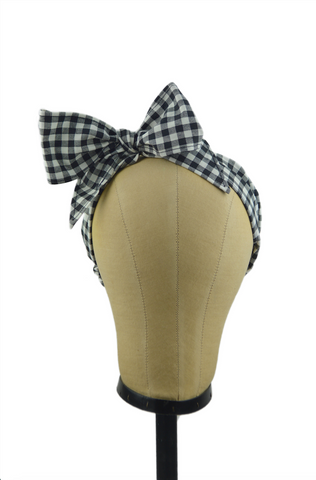 Minnie Headband -Black Picnic