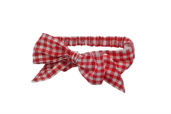 Minnie Headband -Red Picnic