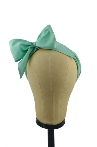 Minnie Headband -Seafoam Green