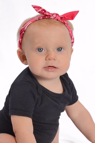 Mommy and Me Headband - Classic Hot Pink