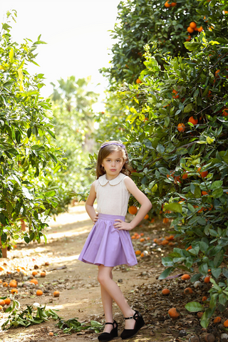 Kids Jivin' Skirt - Lilac