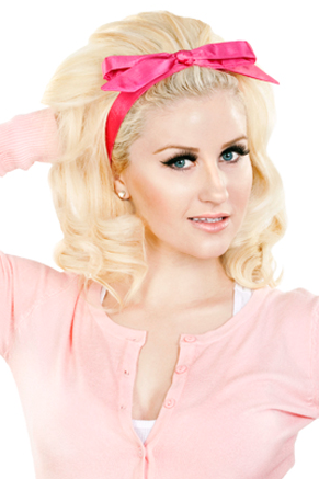 Tracy Headband - Hot Pink