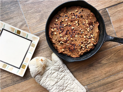 Protein Chai Cookie Skillet by Purely Healthy Living