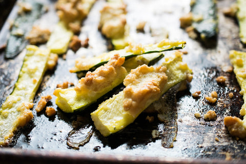 Wild Sprouted Pili Nuts Zucchini Fries