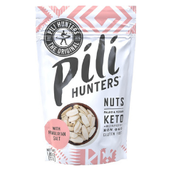 Himalayan Salt Pili Nuts sprouted and activated by Pili Hunters No added oils