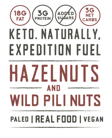 keto naturally expedition fuel hazelnuts and wild pili nuts paleo vegan