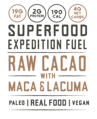 superfood pili nut butter raw cacao with maca and lacuma paleo vegan real food