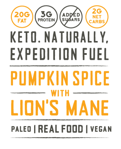 keto naturally expedition fuel pili butter pumpkin spice vegan