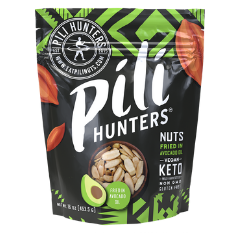 Pili nuts with healthy avocado oil from Pili Hunters