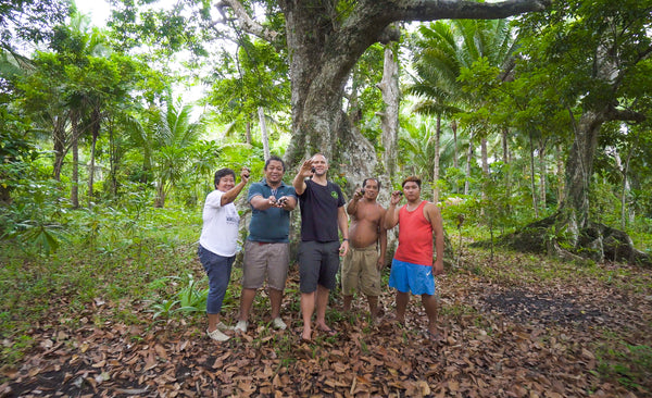 Jason Thomas, Founder and CEO of Pili Hunters | Sustainable pili nut harvesting in the Philippines