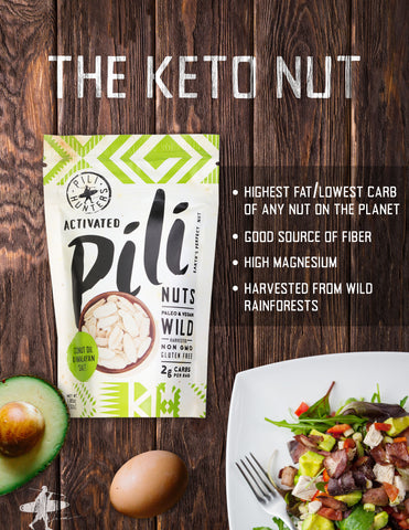 the keto nut, highest fat lowest carb of any nut