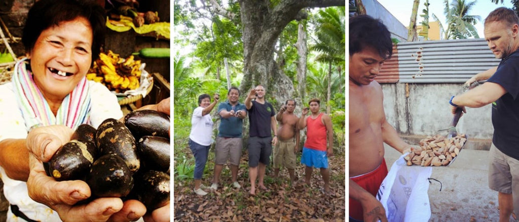 Pili Hunters supports communities in the Philippines