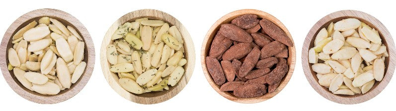 Pili Hunters pili nut flavors | Himilayan salt, rosemary, cacao, spicy chili