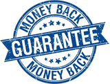 Money back guarentee sticker