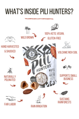 Pili Hunters™ Natural Unsalted Wild Pili Nut (Plain)