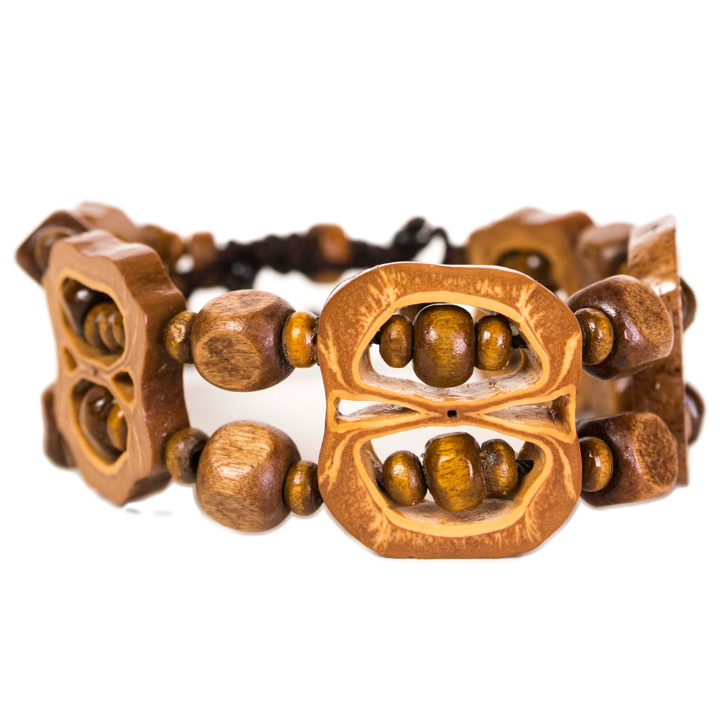 Filipino pili nut bracelet