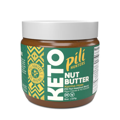 Pili Hunters Pili-Hazelnut Blend Butter