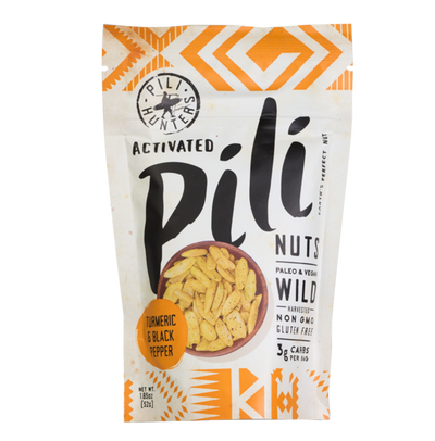 Pili Hunters™ Golden Curry Pili Nuts with Turmeric and Black Pepper