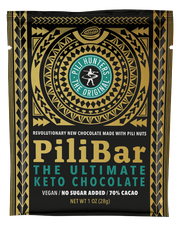 Pili Hunters™ PILIBAR The Ultimate Keto Organic Dark Chocolate