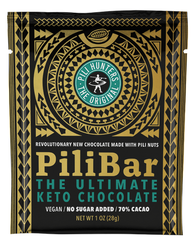 Pili Hunters™ PILIBAR The Ultimate Keto Dark Chocolate