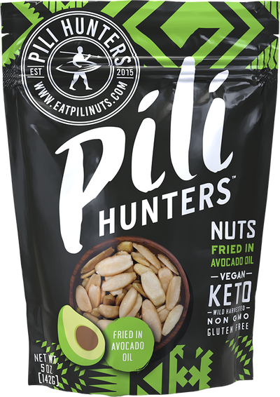 5 oz. Pili Nuts Fried in Healthy Avocado Oil FREE SHIPPING!