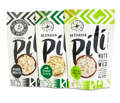 3-pack Keto Pili Hunters™ Nut Variety FREE SHIPPING! - 20% OFF