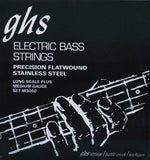 Ghs Ele Bass Strings,Flatwound,Medium