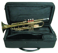 B Flat Brass Trumpet W\Case - Yea Yea Music