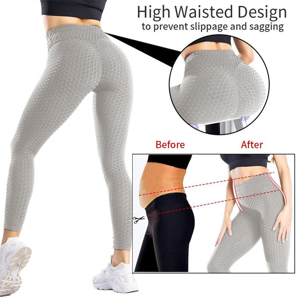 Yoga Pants Leggings Sport Women Fitness Gym High Waist Push Up Yoga