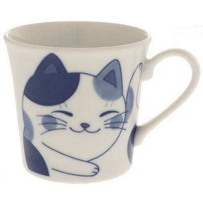 """Chillen"" Calico Cat Mug"