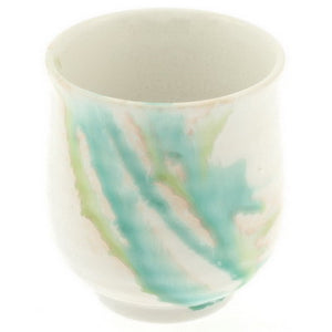 3-Colors Flowing Teacup