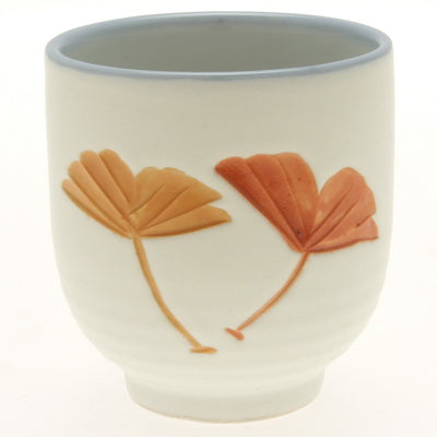 Carved Icho Teacup