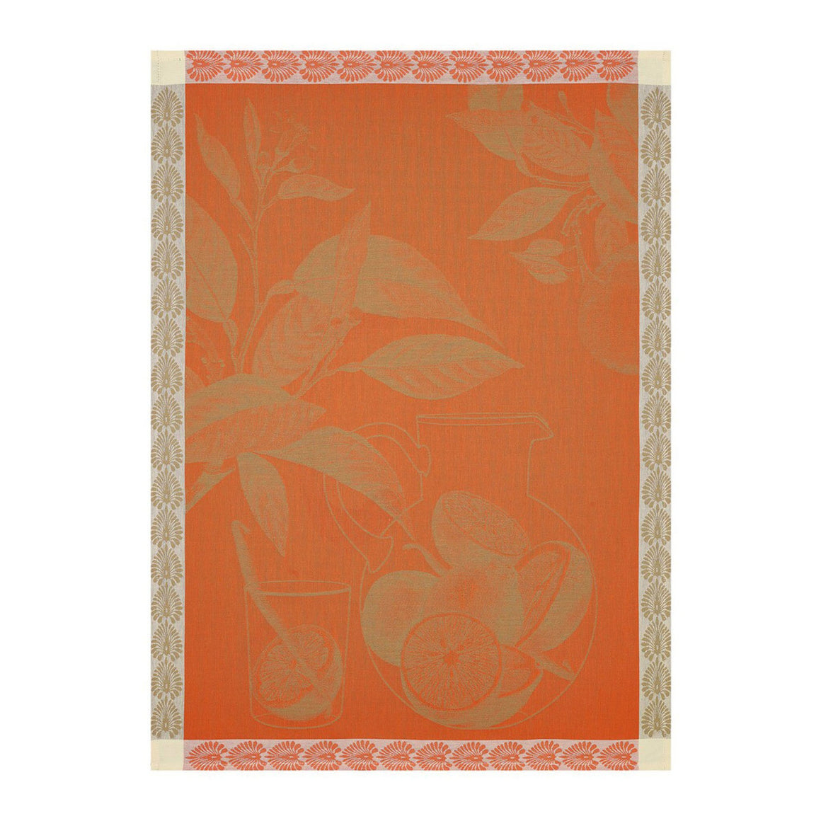 Eaux d'Agrumes Orange Tea Towel